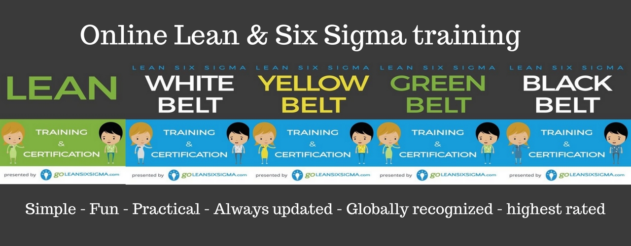 Online Lean Six Sigma training